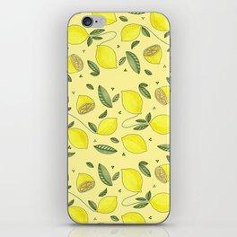 LEMON iPhone Skin