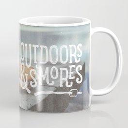 outdoors & S'mores Coffee Mug