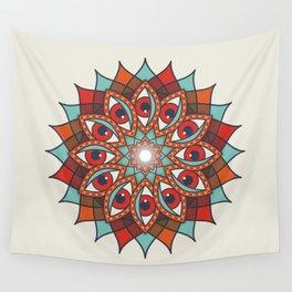 Bali Eyes 1 Wall Tapestry