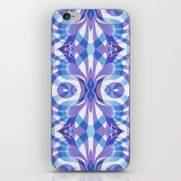 Floral Geometric Abstract G288 iPhone Skin