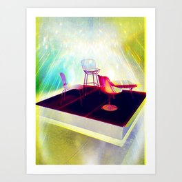 Meet me on the Holodeck Art Print