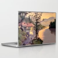 "asian Laptop & iPad Skins featuring "" ASIAN DREAM "" by James Dunlap"