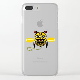 Hei Tiki Bee Toy Clear iPhone Case