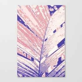 PIXEL PALM BRANCH Canvas Print