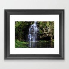 Swallet Falls Framed Art Print