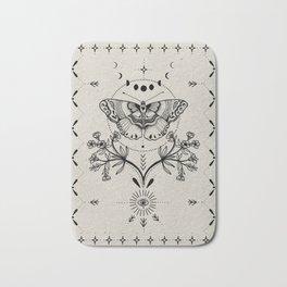 Magical Moth Bath Mat