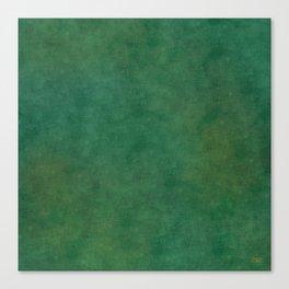 """Porstroke, Teal Shade Pattern"" Canvas Print"