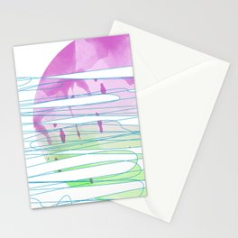 melt sun Stationery Cards