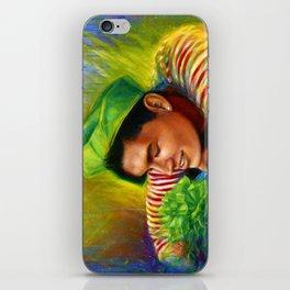 Alex Wassabi & The Tale of the Emerald Flower iPhone Skin