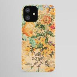 Vintage & Shabby Chic -  Sunny Gold Botanical Flowers Summer Day iPhone Case
