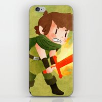 dungeons and dragons iPhone & iPod Skins featuring Dungeons, Dungeons, and More Dungeons by Sir-Snellby