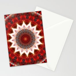 Mandal power lotus Stationery Cards