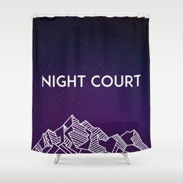 Night Court Shower Curtain