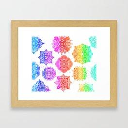 Zentangle Flow #2 Framed Art Print