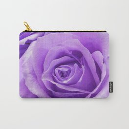 Violet roses Carry-All Pouch