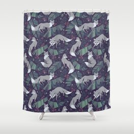 Wolf Tail Shower Curtain