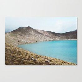 Blue (Lake) isn't the warmest color. Canvas Print