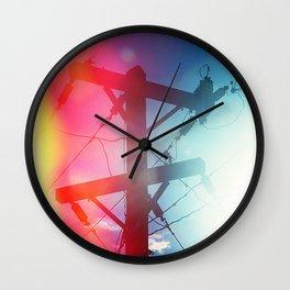 Tele Wall Clock