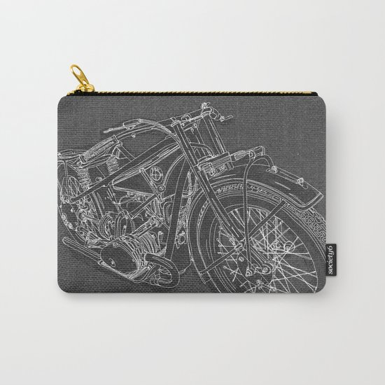 Vintage BMW R32 Motorcycle Carry-All Pouch