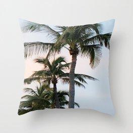Lauderdale Palms Throw Pillow
