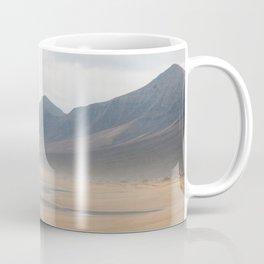 Wild hazed beach across the Canary Islands Coffee Mug