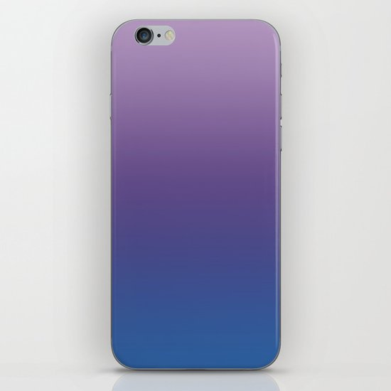 Ultra Violet Blue Lilac Ombre Gradient Pattern by cutepatternstextures