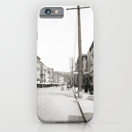 State Street in Ithaca, New York iPhone Case