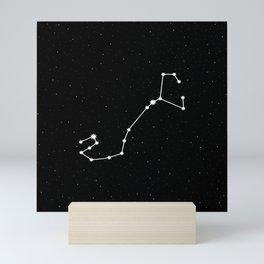 Scorpio Star Sign Night Sky Mini Art Print