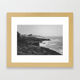 The wild landscape Framed Art Print