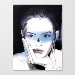 The fly. Canvas Print