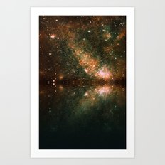 galaxy-32 Art Print