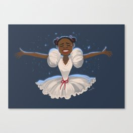 when I think of home Canvas Print