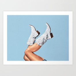 These Boots - Custom Size Art Print