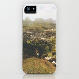 Kailua Hawaii Landscape View iPhone Case