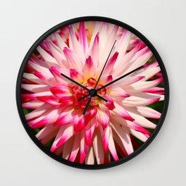 Glowing Beauty Wall Clock
