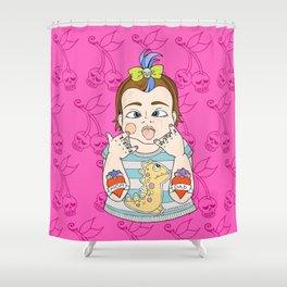 Tattooed Baby 005 Shower Curtain