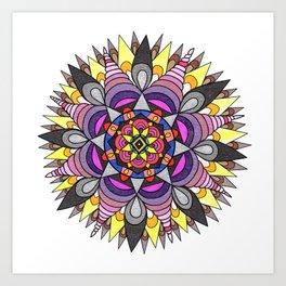 skyflower 8 Art Print
