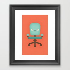 Office Chair Framed Art Print