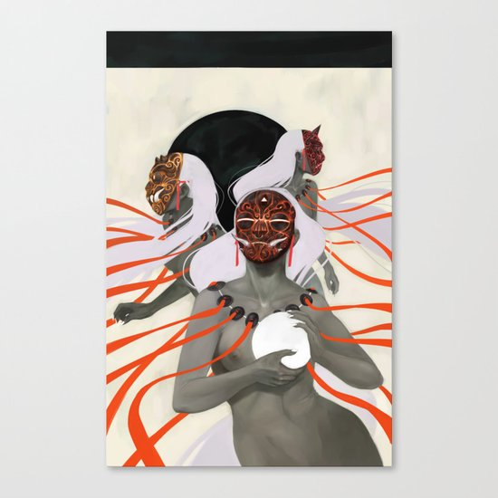 The Fates Canvas Print