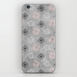 Contemporary Concrete Grit Pattern iPhone Skin