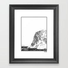 Escapism : Great Heights  Framed Art Print