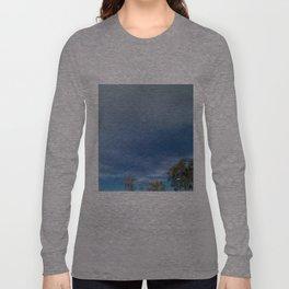 The Smallness of Man (or Woman) Long Sleeve T-shirt