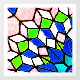 Cordoba Stained Glass Art Print