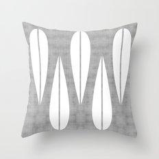 Make Mine MCM Grey Throw Pillow