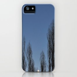 Moon set iPhone Case