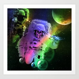 Astro Art Print