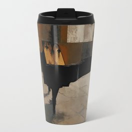 Grand Piano Artwork Travel Mug