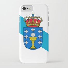 flag of Galicia iPhone Case