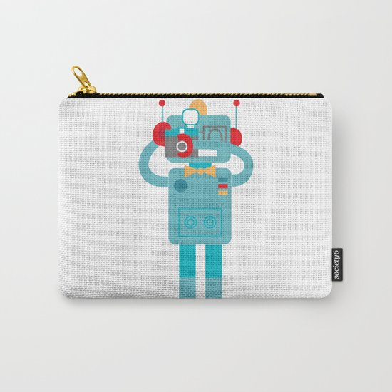Robot loves Diana Carry-All Pouch