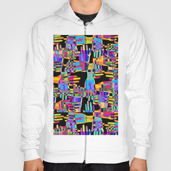 Colorful hands Hoody